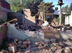 casa destruida