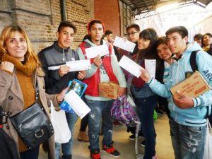 estudiantes a rosario