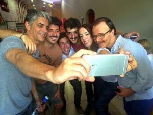 selfie de la cultura