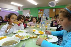 comedor escolar aumento