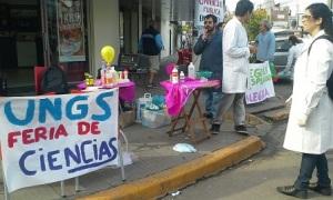 protesta UNGS