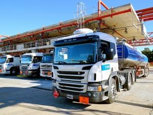camiones de combustible
