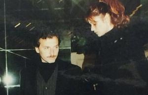 macri con su esposa