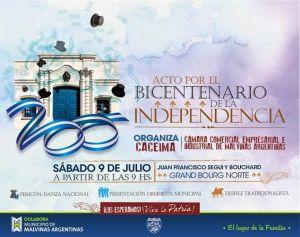 acto bicentenario