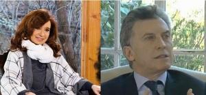 Cristina y Macri