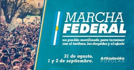 marcha federal